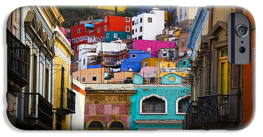 Architecture IPhone 6 Case featuring the photograph Juegos In Guanajuato by Skip Hunt