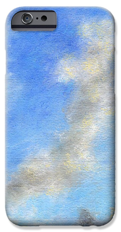 Coastal Decor IPhone 6 Case featuring the painting Kauapea Evening by Kenneth Grzesik