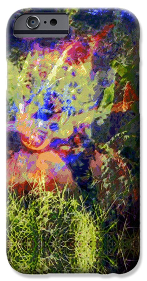 Rainbow Colors Digital IPhone 6 Case featuring the photograph Kihapai O Ekena by Kenneth Grzesik