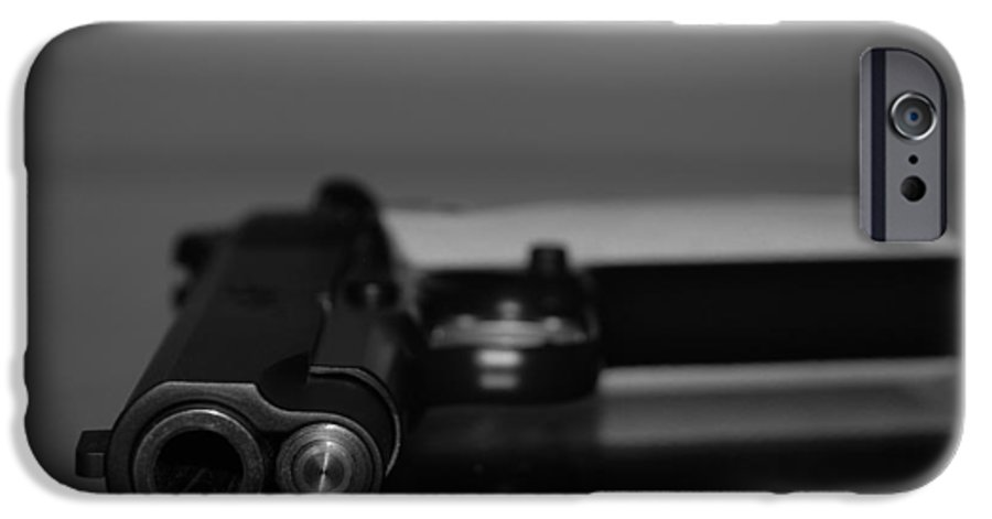 45 Auto IPhone 6 Case featuring the photograph Kimber 45 by Rob Hans