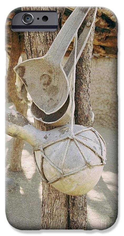 Tumacacori IPhone 6 Case featuring the photograph Kitchen Utensils by Kathy McClure