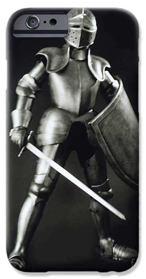 Knight IPhone 6 Case featuring the photograph Knight by Tony Cordoza