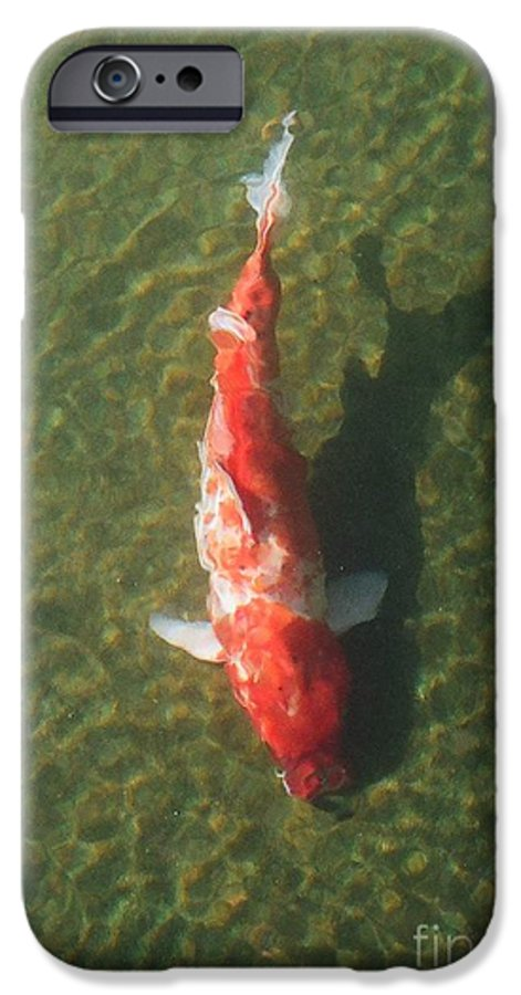 Koi IPhone 6 Case featuring the photograph Koi by Dean Triolo