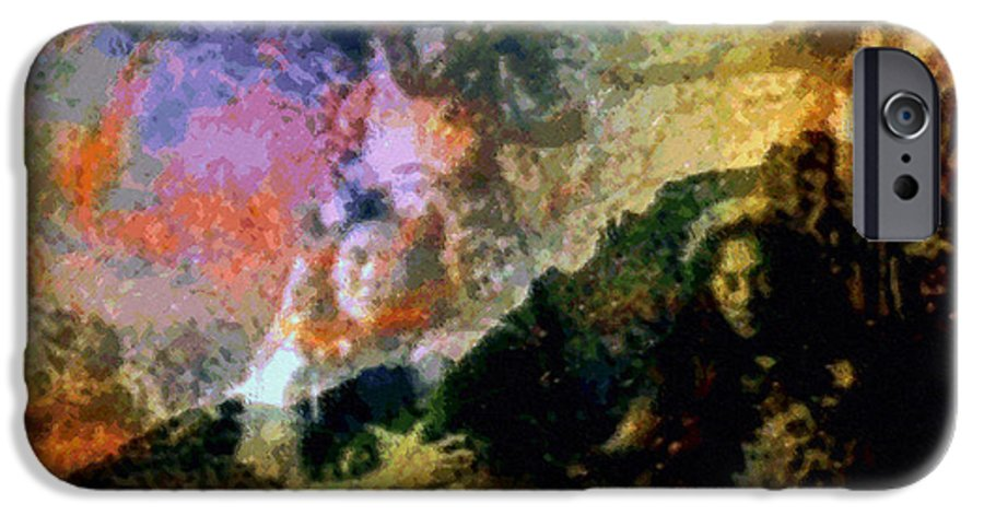 Rainbow Colors Digital IPhone 6 Case featuring the photograph Kupua Hula by Kenneth Grzesik
