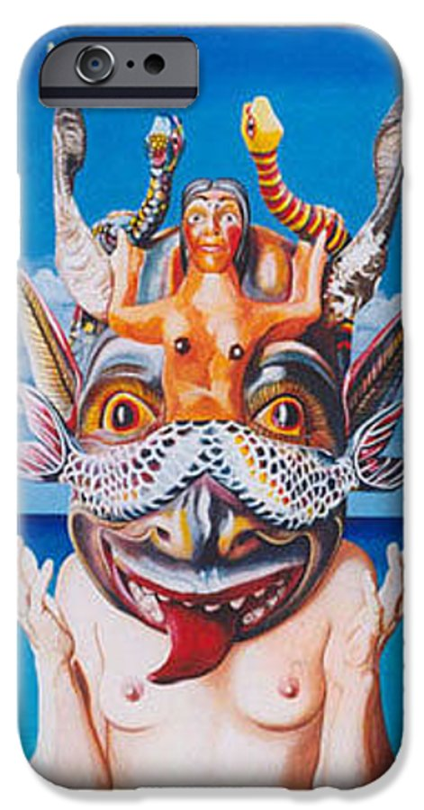 Hyperrealism IPhone 6 Case featuring the painting La Sirena by Michael Earney