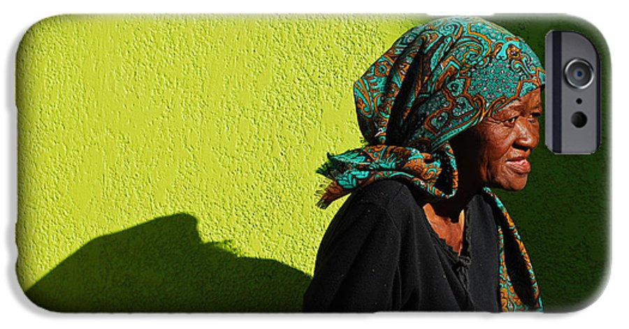 Africa IPhone 6 Case featuring the photograph Lady In Green by Skip Hunt