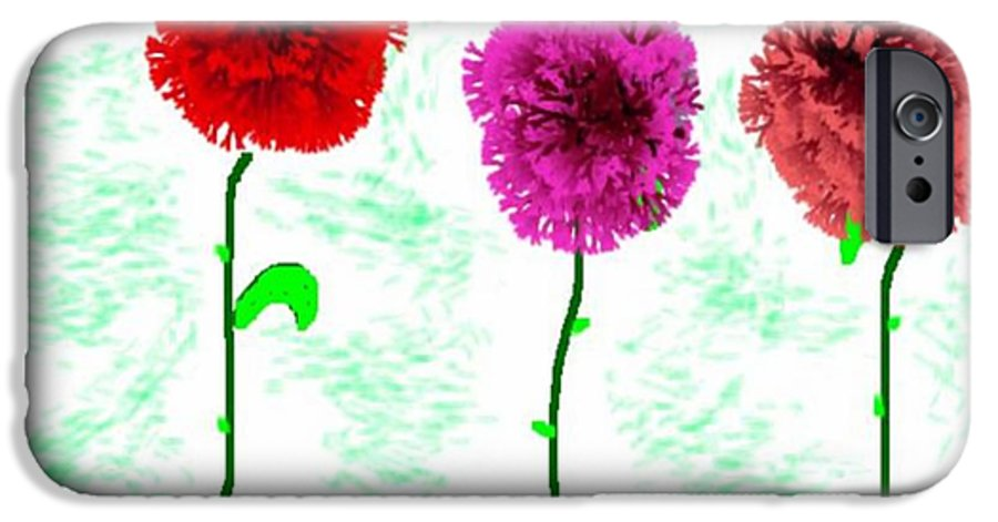 Flowers IPhone 6 Case featuring the digital art Language Of Flowers by Dr Loifer Vladimir
