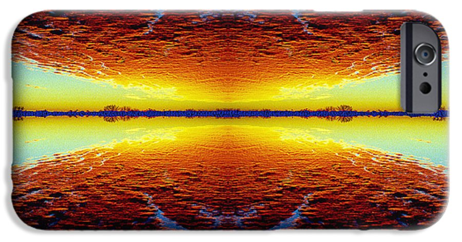 Sunset IPhone 6 Case featuring the photograph Last Sunset by Nancy Mueller