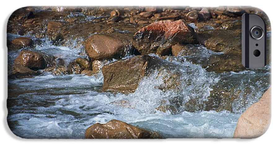Creek IPhone 6 Case featuring the photograph Laughing Water by Kathy McClure