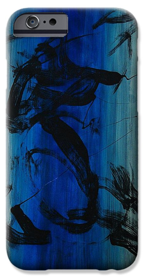 Acrylic IPhone 6 Case featuring the painting Leap Of Love by Lauren Luna