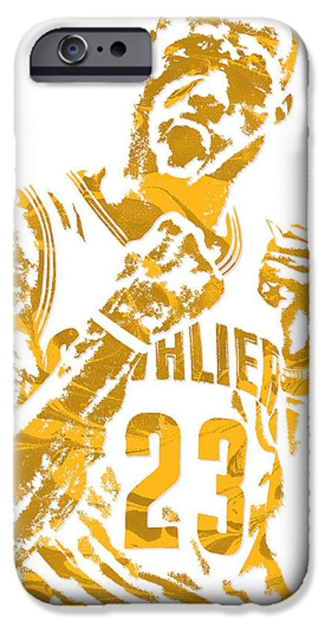 new styles da472 9227f Lebron James Cleveland Cavaliers Pixel Art 9 IPhone 6 Case