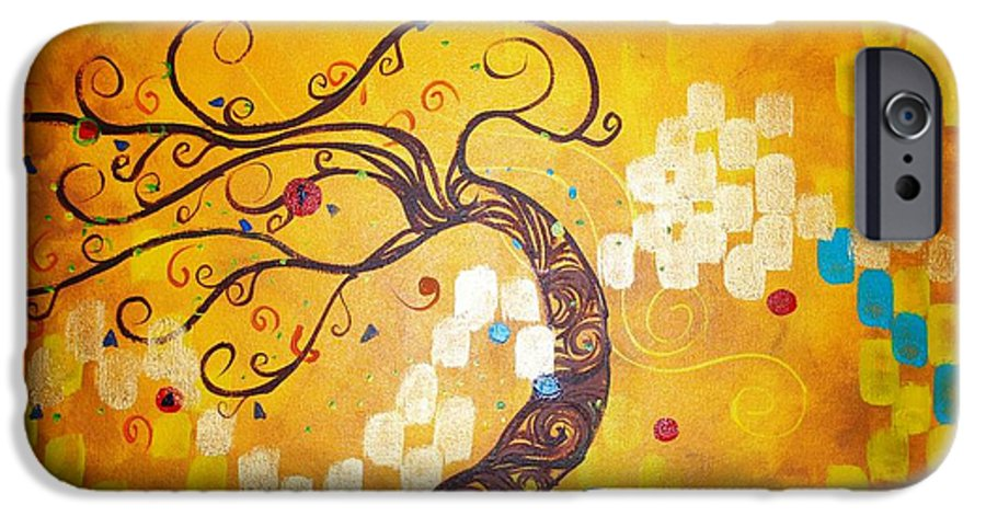 IPhone 6 Case featuring the painting Life Is A Ball by Stefan Duncan