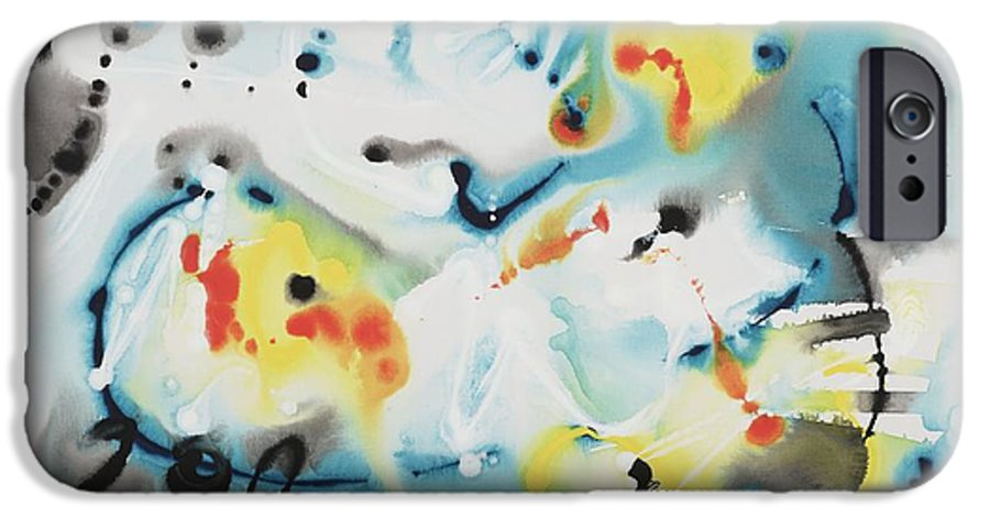 Life IPhone 6 Case featuring the painting Life by Nadine Rippelmeyer
