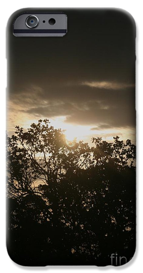 Light IPhone 6 Case featuring the photograph Light Chasing Away The Darkness by Nadine Rippelmeyer