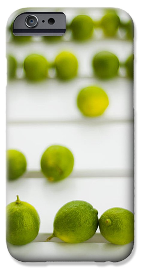 Green IPhone 6 Case featuring the photograph Lime Green by Skip Hunt