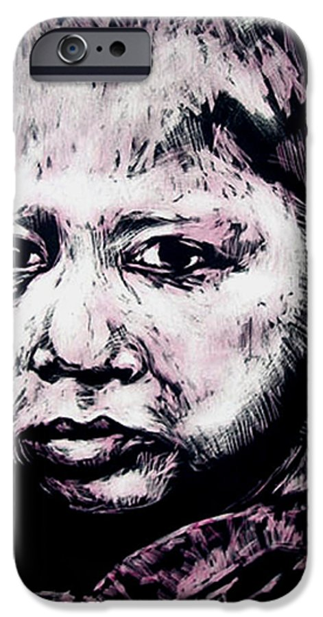 IPhone 6 Case featuring the mixed media Little Rosita by Chester Elmore