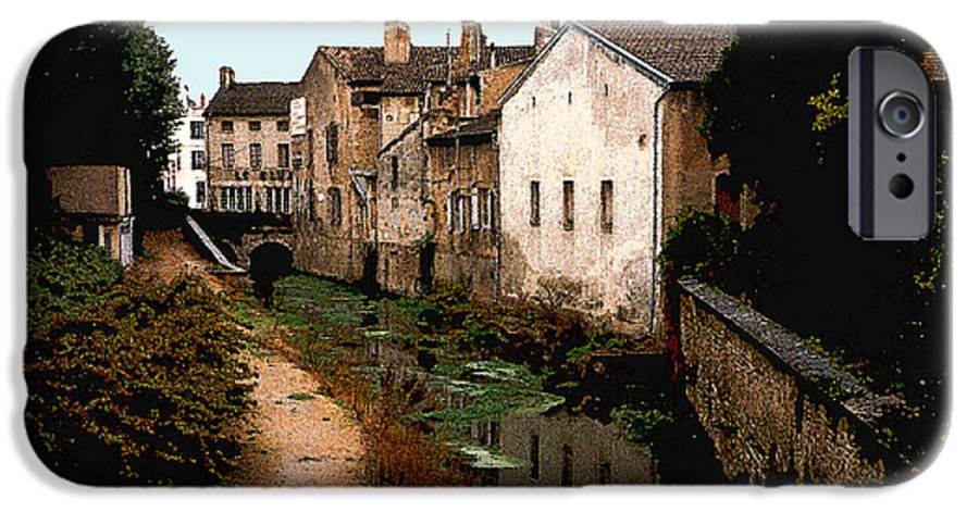 France IPhone 6 Case featuring the photograph Loire Valley Village Scene by Nancy Mueller