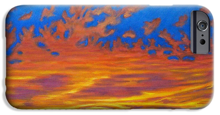 Landscape IPhone 6 Case featuring the painting Looking To The Southwest by Brian Commerford