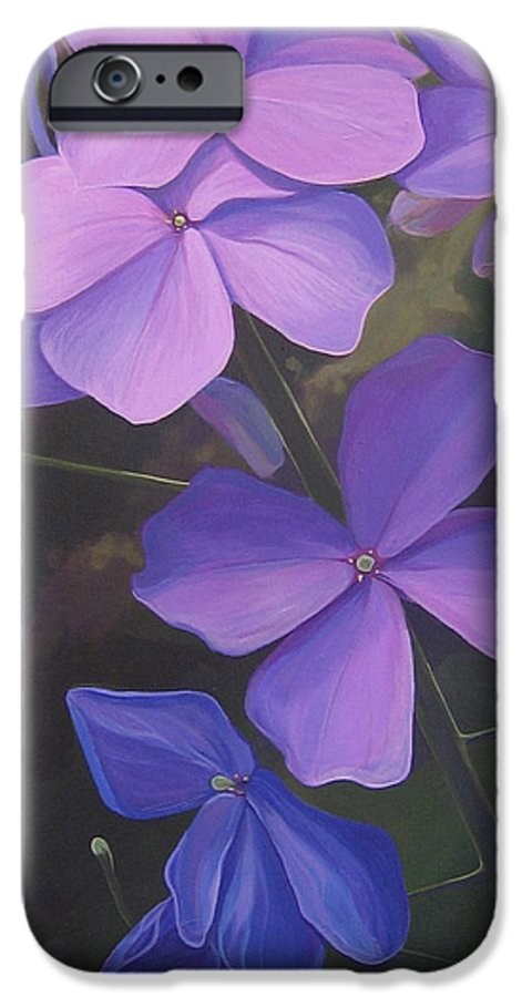 Closeup Of Colorado Wildflower Near Durango IPhone 6 Case featuring the painting Lush Life by Hunter Jay