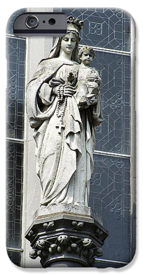 Ireland IPhone 6 Case featuring the photograph Madonna And Child by Teresa Mucha