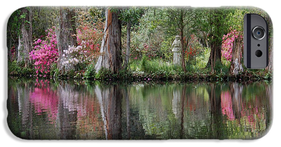 Magnolia Plantation IPhone 6 Case featuring the photograph Magnolia Plantation Gardens Series Iv by Suzanne Gaff