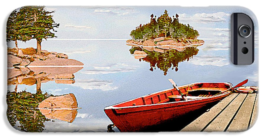 Maine IPhone 6 Case featuring the photograph Maine-tage by Peter J Sucy