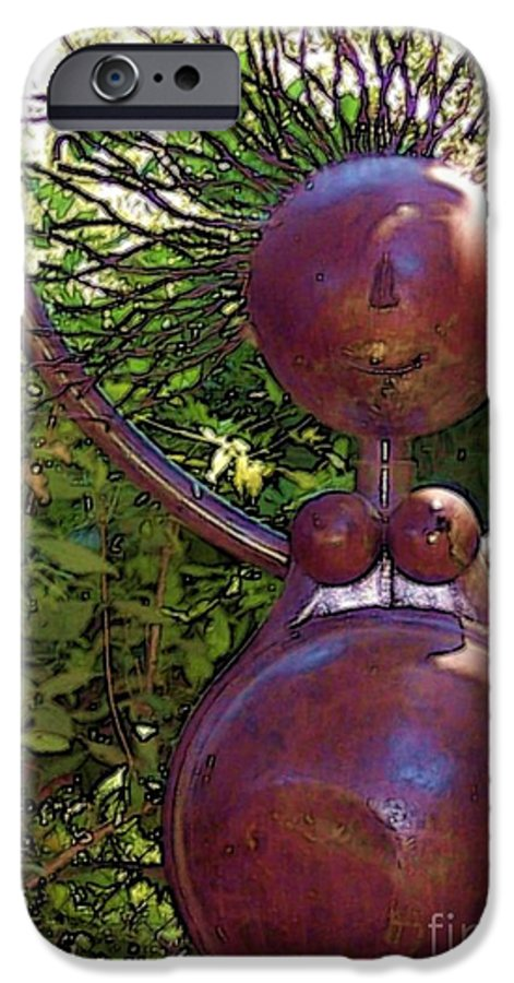 Sculpture IPhone 6 Case featuring the photograph Mama Tool by Debbi Granruth