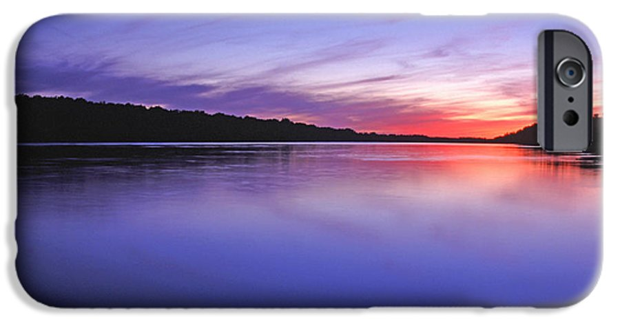 Landscape IPhone 6 Case featuring the photograph Manidooziibi by Bill Morgenstern