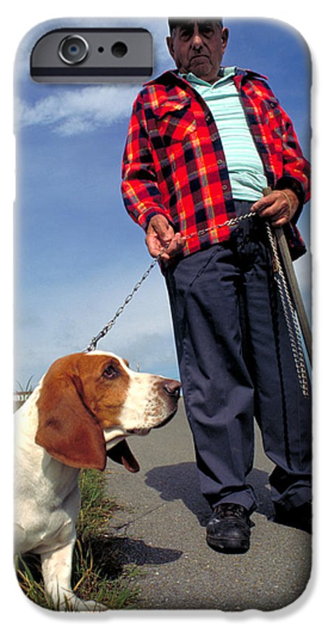 Dog IPhone 6 Case featuring the photograph Man's Best Friend by Carl Purcell