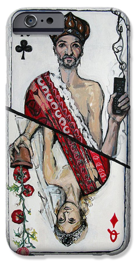 Marriage IPhone 6 Case featuring the painting Marriage by Mima Stajkovic