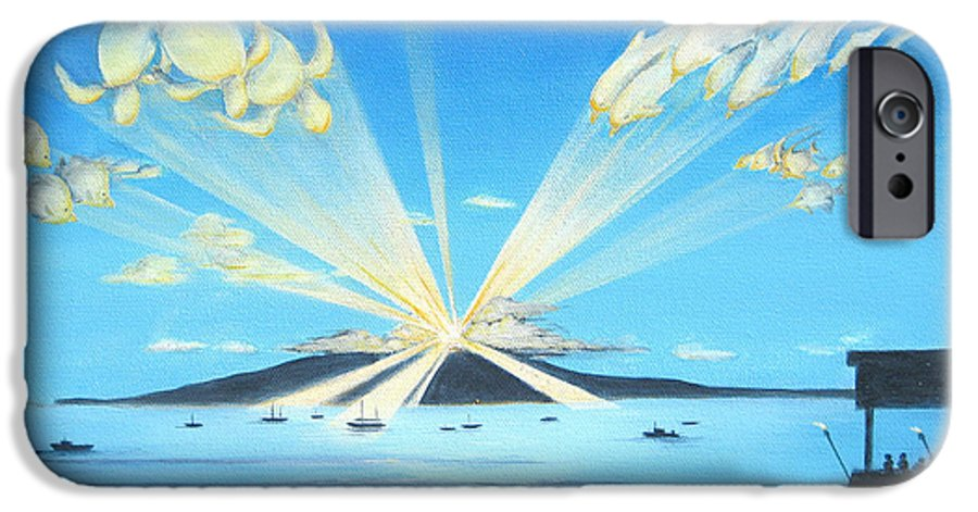 Maui IPhone 6 Case featuring the painting Maui Magic by Jerome Stumphauzer