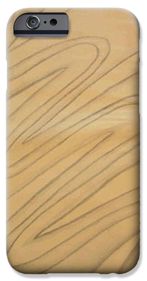 Abstract IPhone 6 Case featuring the drawing Maze Of Life Drawing by Natalee Parochka