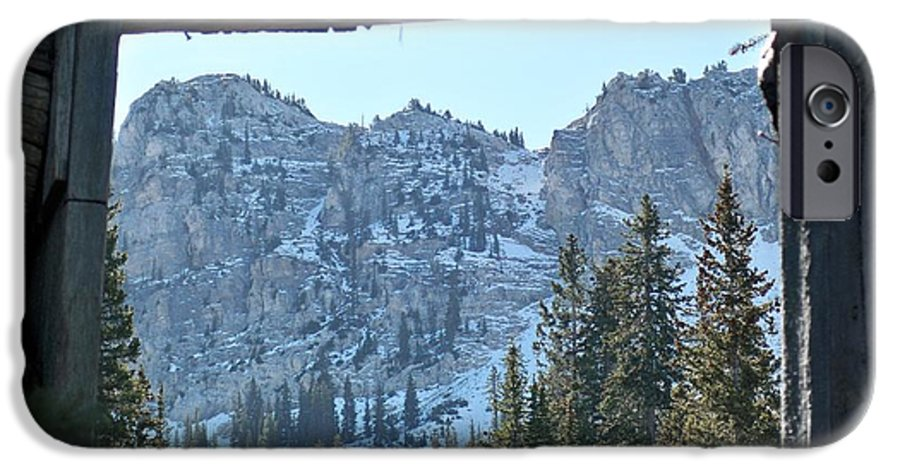 Mountain IPhone 6 Case featuring the photograph Miners Lost View by Michael Cuozzo