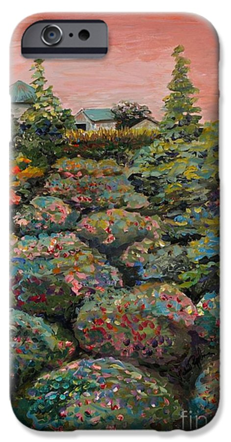 Minnesota IPhone 6 Case featuring the painting Minnesota Memories by Nadine Rippelmeyer