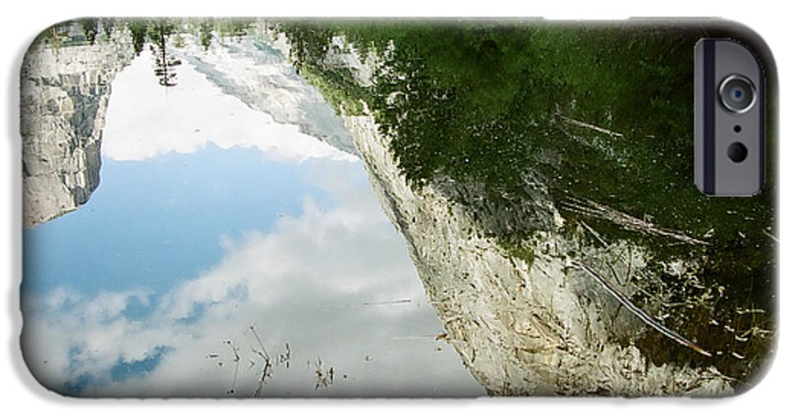 Mirror Lake IPhone 6 Case featuring the photograph Mirrored by Kathy McClure