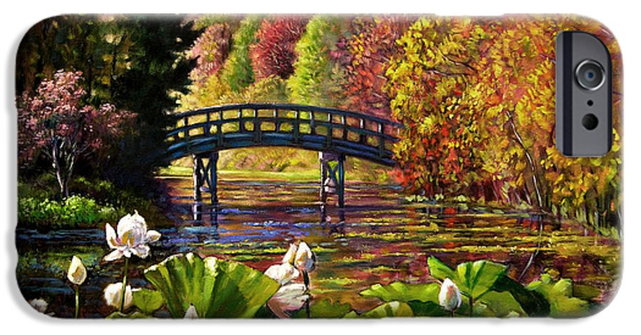 Landscape IPhone 6 Case featuring the painting Missouri Memories by John Lautermilch