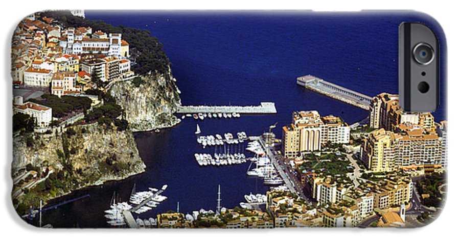 Rich IPhone 6 Case featuring the photograph Monaco On The Mediterranean by Carl Purcell
