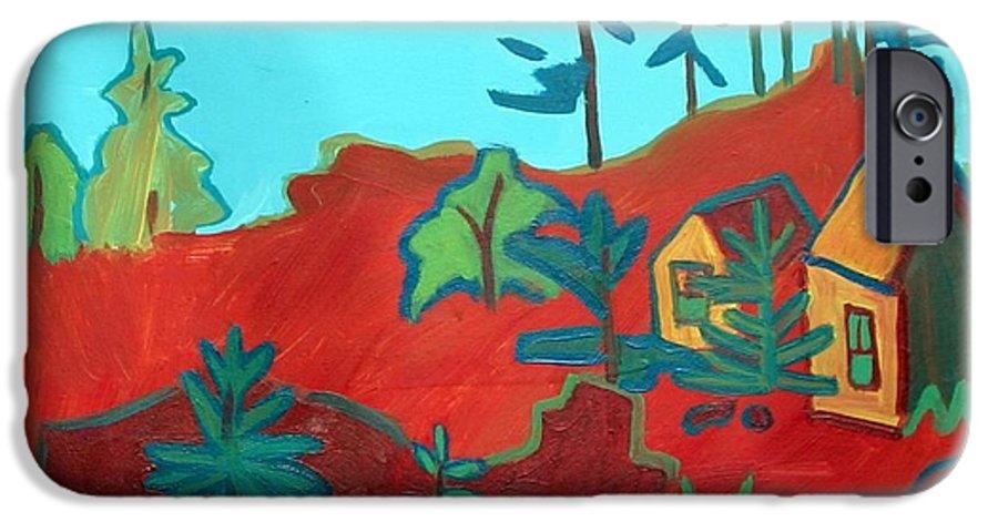 Beach IPhone 6 Case featuring the painting Monhegan Hue by Debra Bretton Robinson