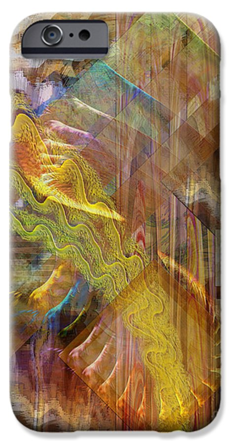 Morning Dance IPhone 6 Case featuring the digital art Morning Dance by John Beck