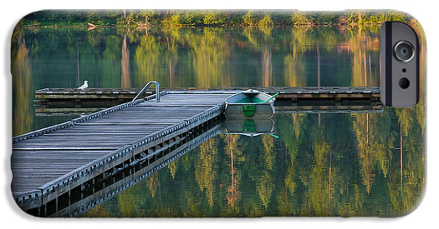 Dock IPhone 6 Case featuring the photograph Morning Light by Idaho Scenic Images Linda Lantzy