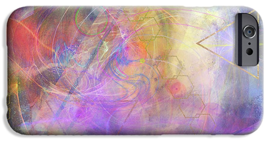 Morning Star IPhone 6 Case featuring the digital art Morning Star by John Beck