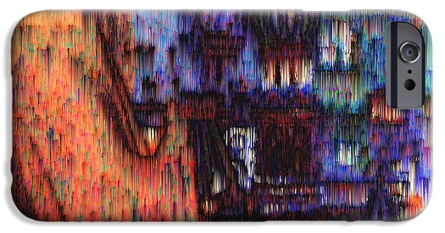 Fog IPhone 6 Case featuring the digital art Moscow In The Rain by Seth Weaver