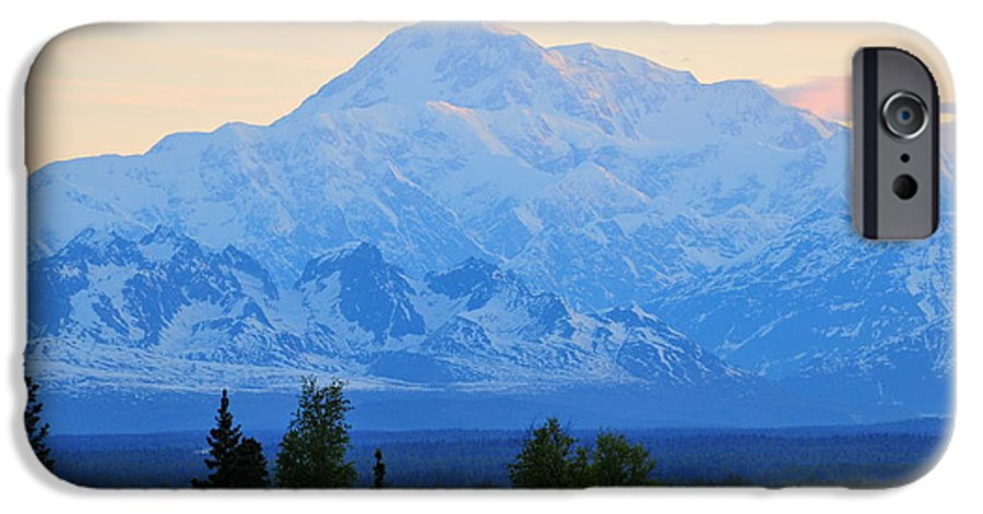 Mount Mckinley IPhone 6 Case featuring the photograph Mount Mckinley by Keith Gondron