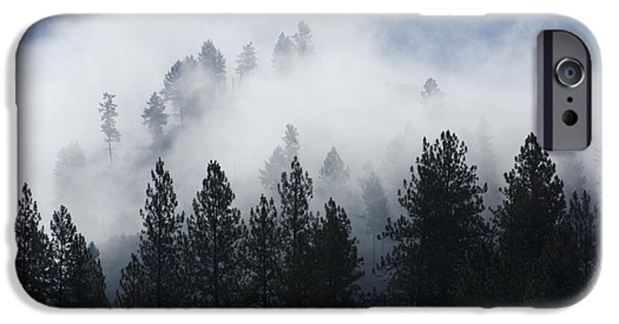 Fog IPhone 6 Case featuring the photograph Mountain Mist by Idaho Scenic Images Linda Lantzy