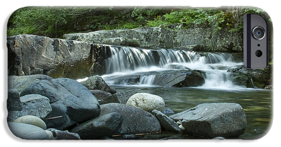 Stream IPhone 6 Case featuring the photograph Mountain Stream by Idaho Scenic Images Linda Lantzy