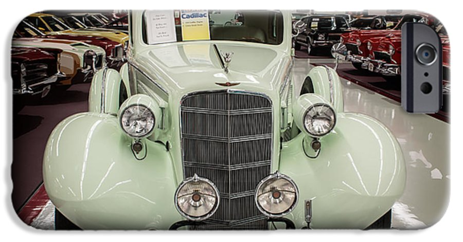 Muscle Car City 1935 Cadillac Celery Stock Green Iphone 6 Case For