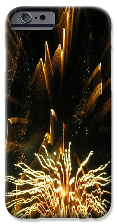 Fireworks IPhone 6 Case featuring the photograph Music To My Eyes by Rhonda Barrett