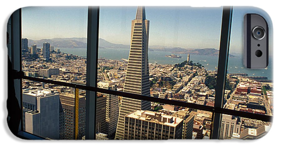 San Francisco IPhone 6 Case featuring the photograph My City On The Bay by Carl Purcell