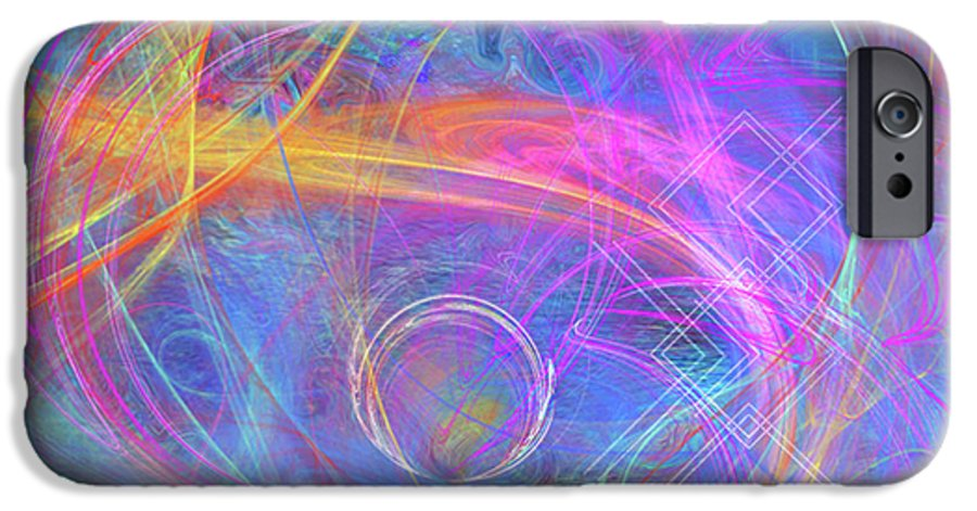 Mystic Beginning IPhone 6 Case featuring the digital art Mystic Beginning by John Beck