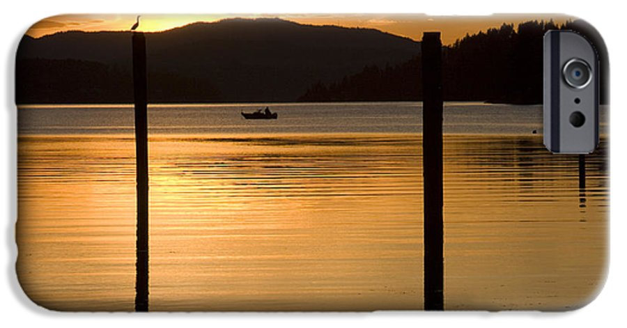Bird IPhone 6 Case featuring the photograph Natures Spotlight by Idaho Scenic Images Linda Lantzy